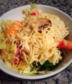 Veggie Lo Mein - 4 Weight Watchers Points Plus per serving