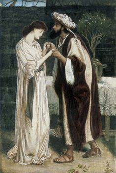 Isaac and Rebecca by Simeon Solomon
