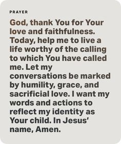 Help Me, Pray Until Something Happens, The Calling, Love You, Let It Be, Humility, Your Child, Conversation, Reflection