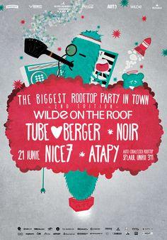 The Biggest Rooftop Party in Town Bucharest - second edition Rooftop Party, Bucharest, Youtube, Parties, Heineken, Black People, Fiestas, Fiesta Party, Youtubers