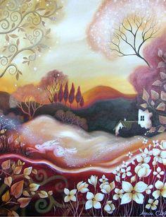 Paintings by Amanda Clark | Faith is Torment | Art and Design Blog