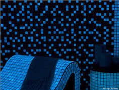 Meet five different companies that all manufacture Glow In The Dark Mosaic Tiles for use in your bathrooms, swimming pools, stairways and other places.