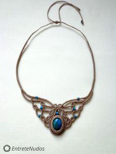 see Macrame Necklace Pins | Macrame jewelry, Macrame earrings tutorial ...