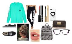 """""""don't care outfit"""" by reyawilber on Polyvore featuring Victoria's Secret, Vans, NARS Cosmetics, Dolce&Gabbana, Charlotte Tilbury, Vera Bradley, Zero Gravity and MICHAEL Michael Kors"""