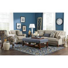 7623 Living Room Group By Craftmaster