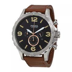 73ff832c418 reloj fossil hombre jr1475 original con garantía cuero