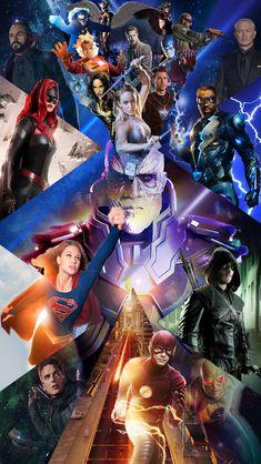 Infinite Earths, Chloe Bennet, Green Carpet, The Flash, Supergirl, Green Dress, Dc Comics, Legends, Fan Art
