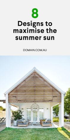A home designed and then decorated to capitalise on the heady mood of fun-in-the-sun freedom, brings the holiday feeling home. Outdoor Rooms, Outdoor Living, Queenslander House, Gazebo, Pergola, Cottage Renovation, Backyard Pool Designs, Granny Flat, Breezeway