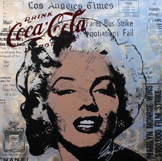 Marilyn Newspaper Coca 100x100 Alu San Francisco 49ers, Newspaper, Wallpapers, Art, Pictures, Art Background, Journaling File System, Kunst, Wallpaper