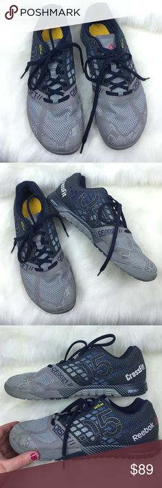 SALE REEBOK  MENS CROSSFIT NANO 05 KEVLAR 11 VERY NICE preowned condition!  Get them here for way cheaper than brand new!  *These do not have the insoles. REEBOK CROSSFIT SHOES!  MENS size 11!  202F17P Reebok Shoes Athletic Shoes