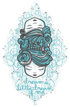 Sea by MALACARA , via Behance  ~ Love the use of like color and simple style!