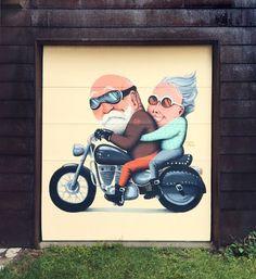 Mural a Vermont, USA, juny de 2015 Artsy, Frame, Illustration, Diy, Home Decor, Vermont, Walls, Urban Art, Illustrations