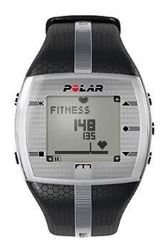 Polar Pulsuhr FT7 Trainingscomputer Running, Fitness, Armbanduhr, Herren, Größe M, Schwarz/silberfarben - http://uhr.haus/polar/polar-pulsuhr-ft7-trainingscomputer-running-m