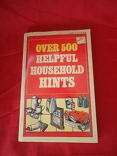Over-500-Helpful-Household-Hints-Home-Library-Paperback-1986