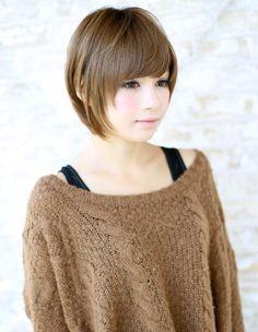 AFLOAT JAPANのヘアスタイル | 大人気小顔ショート (NB-661) | 東京都・銀座の美容室 | Rasysa(らしさ)