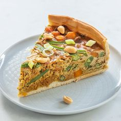 Indische quiche Pan Dulce, Chorizo, Salsa, Oven Dishes, Dutch Recipes, Xmas Food, Indonesian Food, Gnocchi, Salmon Burgers