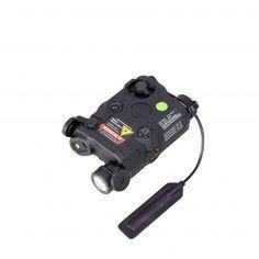Bravo P15 Flashlight & Green Laser PEQ Box, Black (JP-BRAVO-P15-GRN-BLK)