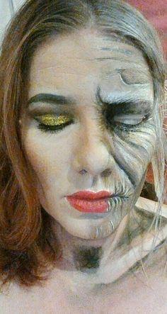 Aging Diva #halloweenmakeup Halloween Make Up, Halloween Party, Halloween Face Makeup, Face Art, Diva, Painting, Paintings, Draw, Halloween Makeup Looks