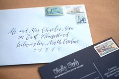 Oh So Beautiful Paper: DIY Tutorial: Stamped Nautical Tri-Fold Wedding Invitation Suite