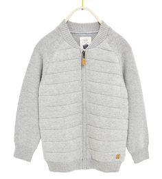 퀼티드 니트 보머 재킷-이번 주 신상품-BOY | 만4세-14세-KIDS | ZARA 대한민국