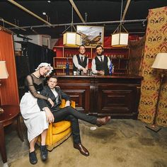 Recreating a gentleman's club @carouselspaces - bring on our next #immersive #popup