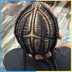 Cornrow Styles For Men, Boy Braid Styles, Cornrow Hairstyles For Men, Natural Braided Hairstyles, Black Girl Braided Hairstyles, Braids For Boys, Braids For Black Hair, Afro, Male Braids
