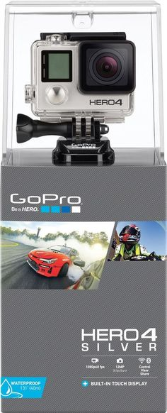 GoPro Hero4 Silver #gopro #hero4 #oxbold