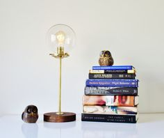 Hey, I found this really awesome Etsy listing at https://www.etsy.com/ca/listing/254721500/globe-table-lamp-industrial-brass-and