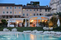 Arda and Anna's reception venue in Rome. www.weddingsinrome.com