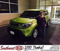 Congratulations to Jeff Lawrence on your #Kia #Soul purchase from Ivan Navarrete at Southwest Kia Mesquite! #NewCar