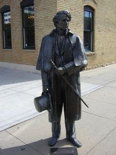 "Rapid City, South Dakota - The City of the Presidents - ""Franklin Pierce"""