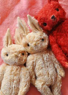 bear and rabbits:  Jennifer Murphy