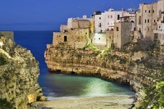 Gorgeous sea views in Polignano a Mare, Puglia