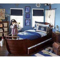 Adorable ship beds for the litlle Pirates | Amazing Interior Design