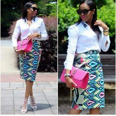 Weeks ago we brought you an array of corporate Ankara styles you can rock throughout the week, here are some corporate styles that we know you would African Dresses For Women, African Print Fashion, African Fashion Dresses, African Wear, African Prints, African Women, Ankara Fashion, African Attire, Fashion Walk