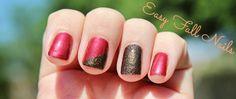 Easy Fall Nails