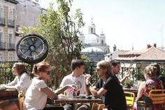 Terraza de la Casa Encendida Madrid
