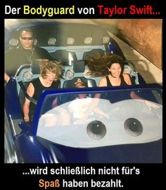 Der Bodyguard von Taylor Swift...