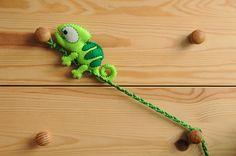 Chameleon felt plush...keep climbing, keep climbing...