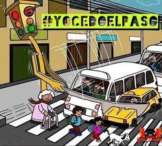 ¿Vamos a esperar que sean los Semáforos los que evolucionen para respetar el Crucero Peatonal? Seamos el cambio que queremos para nuestra ciudad! #YOCEDOELPASO   www.facebook.com/CampanaYoCedoElPaso