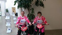 Definitely ones to watch - Sarah and Carol are part of  #TeamMindBMX who are dedicating a season to fundraising. We *love* the jerseys.