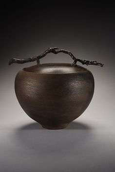 Terra Gourd: Carol Green: Ceramic Vessel - Artful Home Glass Ceramic, Ceramic Pottery, Pottery Art, Sculptures Céramiques, Sculpture Art, Contemporary Ceramics, Ceramic Artists, Oeuvre D'art, Gourds