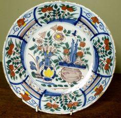 18th cent delft plate