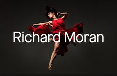 Custom logotype for UK photographer Richard Moran by Leeds based graphic design studio Journal