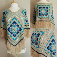 New Poncho Design!