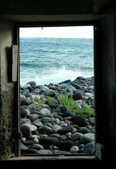 Ventana vistas mar