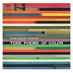 Saul Bass, Frank Sinatra Conducts Tone Poems of Color, 1956....