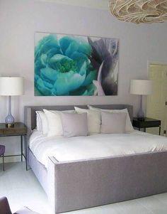 gray interior design bedroom