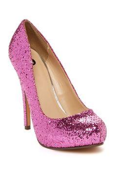 Love Me Glitter Pump by Michael Antonio on @HauteLook; so beautiful!