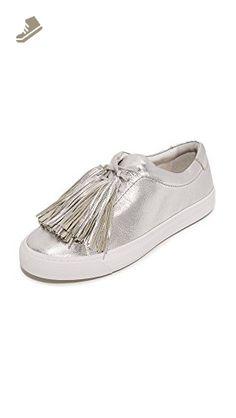 LOEFFLER RANDALL Women s Logan (Metallic Leater Tassels) Fashion Sneaker 963353539